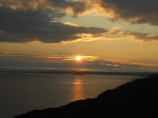 63 Sunset Nolton Haven cliff