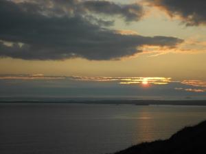 65 Sunset Nolton Haven cliff